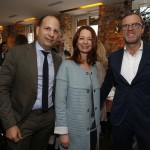 Henning Gerbaulet, Tanja Croonen, Mark Bezner Fashion meets Meat / ModeMedienAbend im Goldenen Kalb in MŸnchen am 21.04.2016. Agency People Image (c) Jessica Kassner *WARNING* STRICTLY NO FAN WEBSITE / NO BLOG / NO FACEBOOK / NO INSTAGRAM / NO SOCIAL WEB USE! ALL RIGHTS RESERVED!